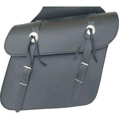 AL3600-Plain Leather Throw Over Saddlebag