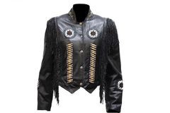 Ladies Black Western Jacket