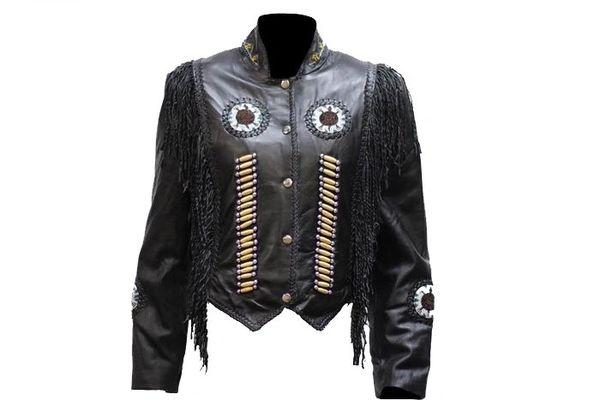 Ladies Black Western Jacket