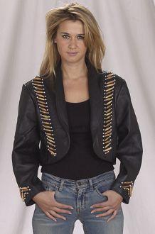 Ladies Balero Motorcycle Jacket
