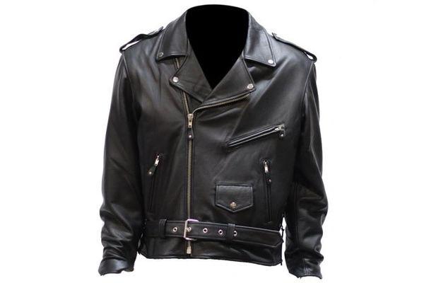 Men's Club Panel Motorcycle Jacket