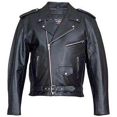 AL2010-Mens Basic Motorcycle jacket