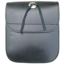 Medium Plain Sissy bar bag with Velcro Closure.
