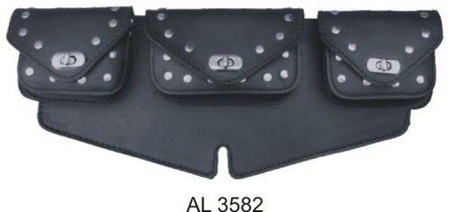 AL3582 Windshield bag Studded