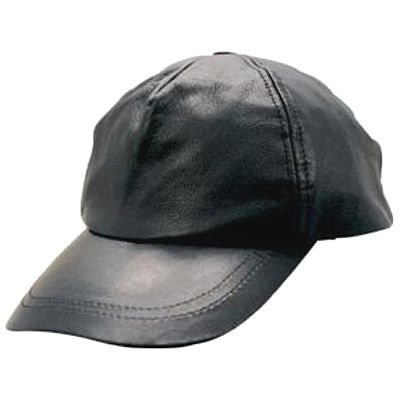 AL3225-Leather Baseball Cap