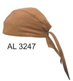 AL3247 Brown skull cap