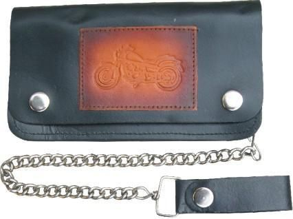AL3286 Biker Wallet with Motorcycle design