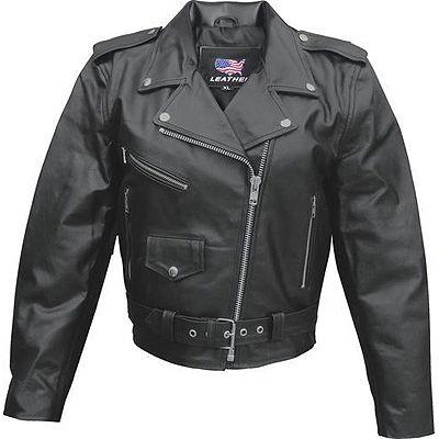 AL2101 LADIES BASIC MOTORCYCLE JACKET