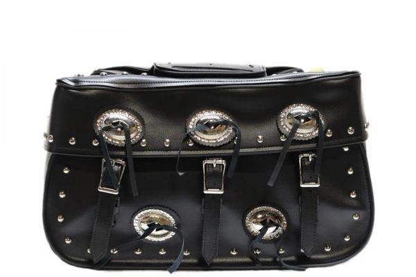 PVC Saddle Bags with Concho's