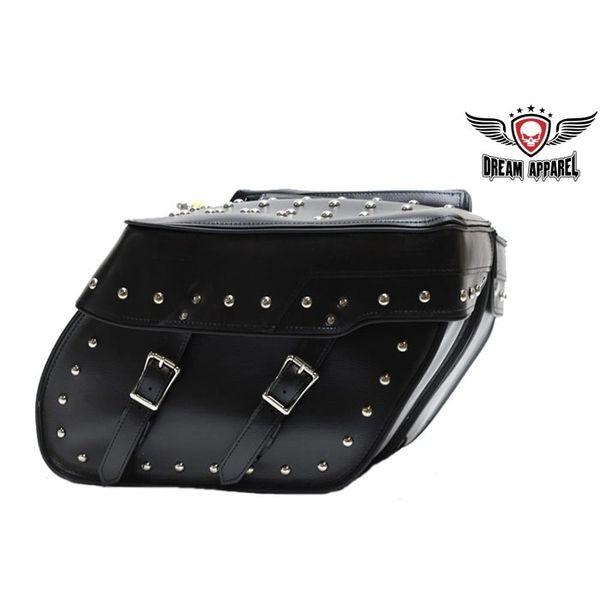 Motorcycle Saddlebag With Studs