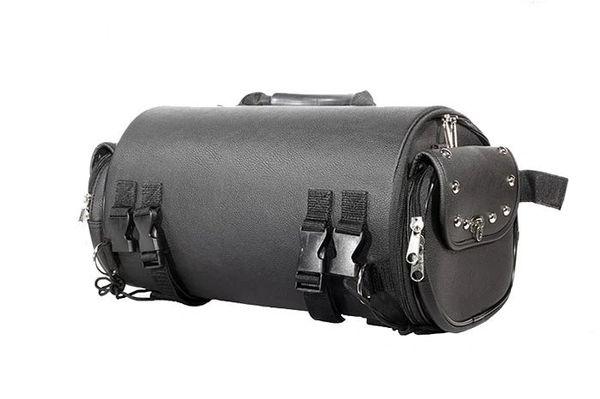 Round Motorcycle Sissy Bar Duffle Bag