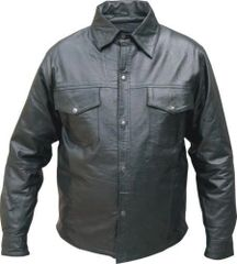 AL2670 soft Buffalo Leather shirt