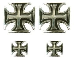 Iron Cross Pin Set