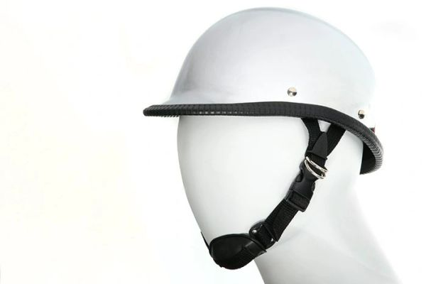 Chrome Jockey / Hawk Novelty Motorcycle Helmet