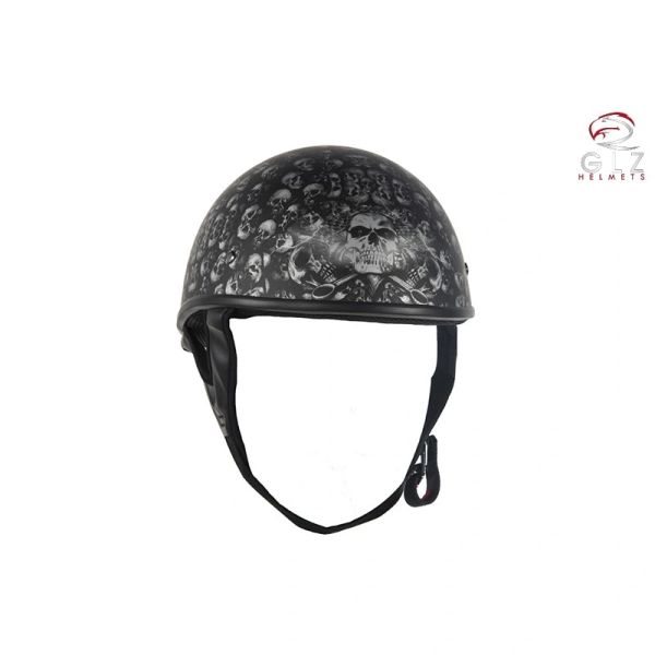DOT Low Profile Motorcycle Helmet