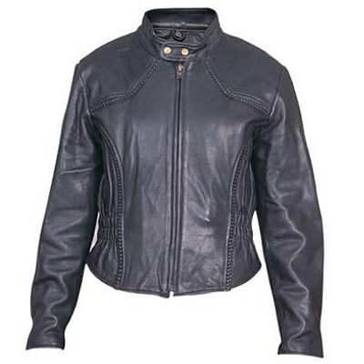AL2142-Ladies Euro Collar Jacket