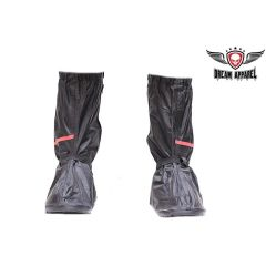 Biker Boot Rain Cover with reflective stripe
