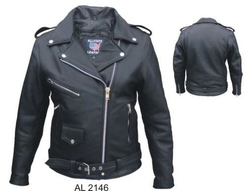 AL2146 Full Cut Motorcycle Jacket