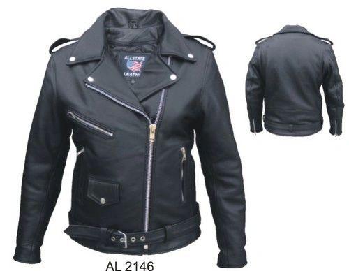 AL2146 Full Cut Motorcycle Jacket