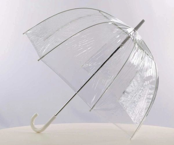 Clear - Bubble Shaped Umbrella -Large size 34""