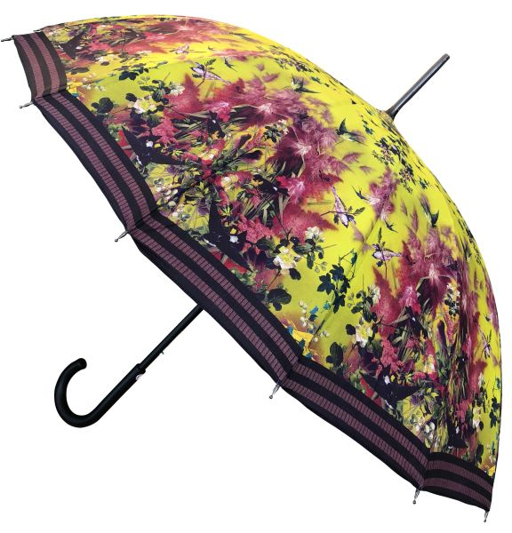 Jean Paul Gaultier - Yellow Swallow Umbrella - Luxury - Handmade In France