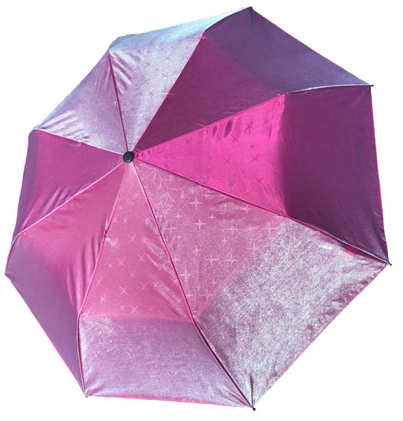 COMPACT IRIDESCENT UMBRELLA -WATERPROOF PINK