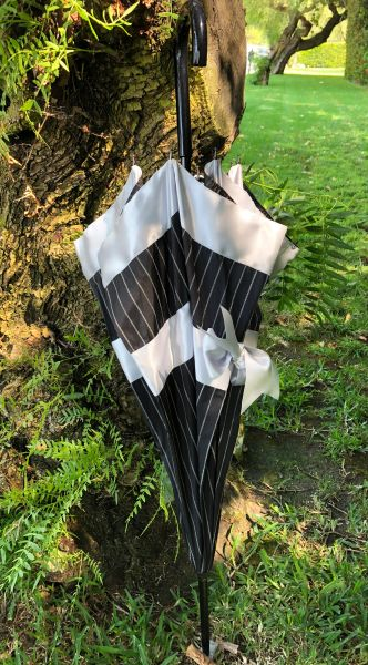 30% off - Bow By Guy De Jean - Handmade French Umbrella - Waterproof - Display Umbrella - Final sale