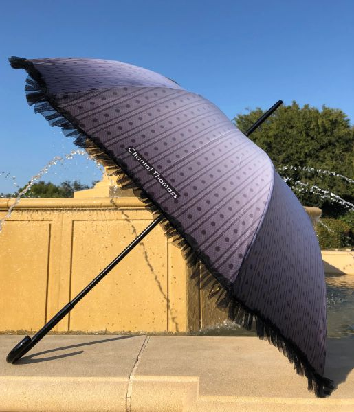 15% off - Envoutante By Chantal Thomass - Handmade French - Waterproof and UV Protection - Display Umbrella - Final sale
