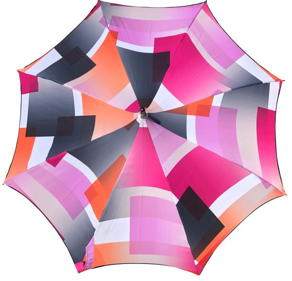 Charm Geometry By Guy de Jean - Luxury Umbrella - Handmade in France