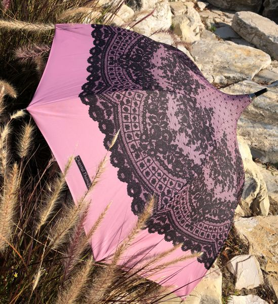 Delicate By Chantal Thomass - Luxury Handmade French Umbrella - Printed Lace SPF 50+