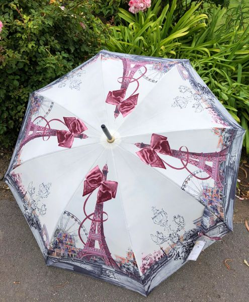 20% off - Big Eiffel by Guy de Jean - Handmade French Luxury - Display Umbrella - Final sale