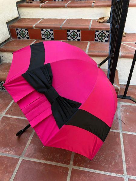 "Chapeau Cloche By Chantal Thomass - Luxury Handmade French Umbrella - SPF50 - 31"" Wide"