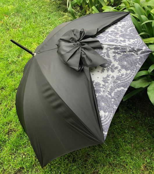 Bow Vintage By Chantal Thomass - SPF50 -Waterproof - Luxury Umbrella - Handmade In France