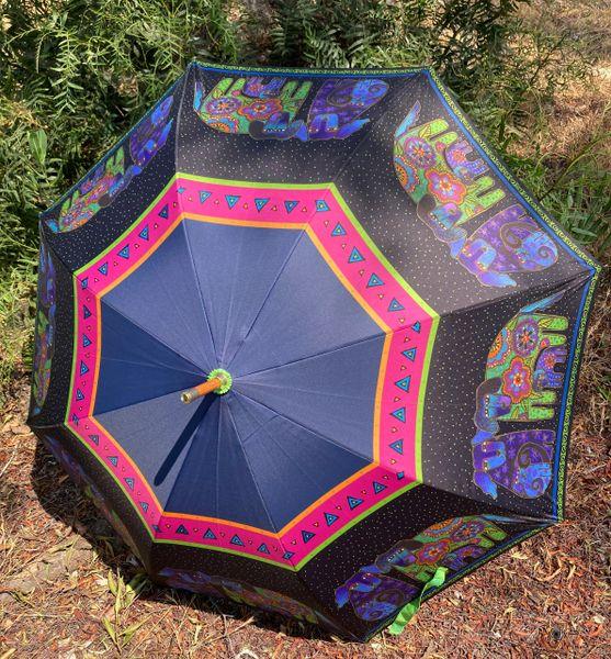 Laurel Burch Umbrella - Dogs And Doggies - Stick Style