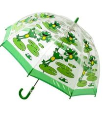Out of stock - Kids frog umbrella - Clear PVC