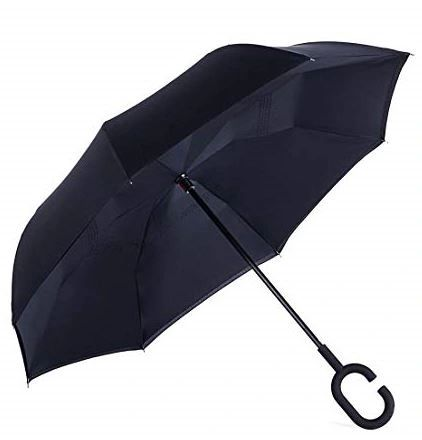 Inside Out - Black Two Layer Canopy - Waterproof