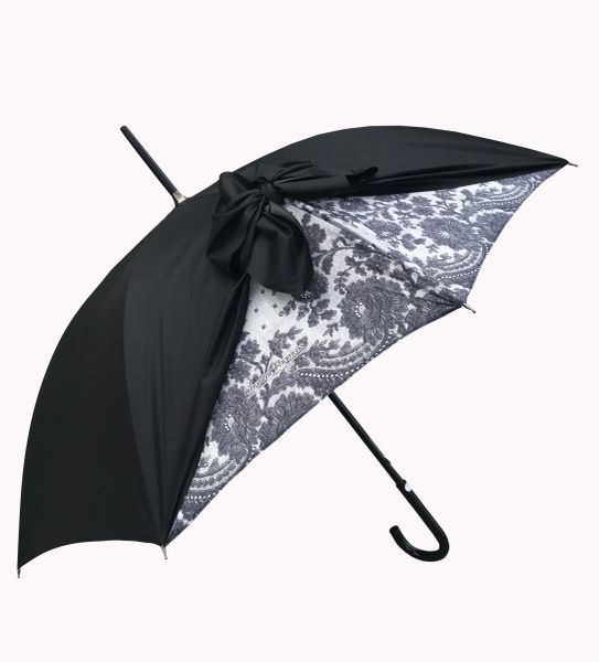 Chantal Thomass Umbrella - Bow Vintage Design - SPF50 -Waterproof - Luxury - Handmade In France
