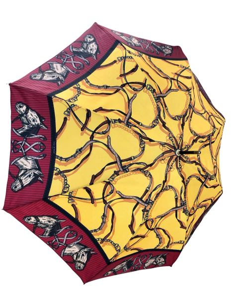 Guy de Jean - Horse Theme Umbrella - Luxury - Handmade In France