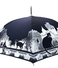 Guy de Jean - Cats Umbrella- Handmade in France