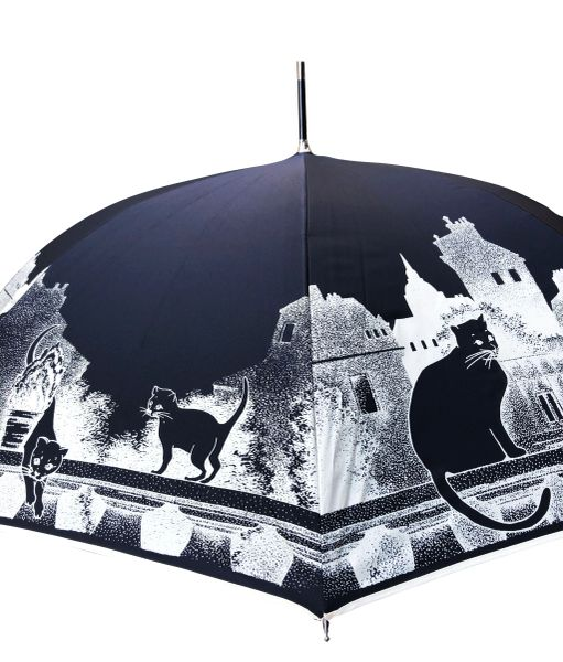 Guy de Jean - Cats Umbrella- Luxury - Handmade in France