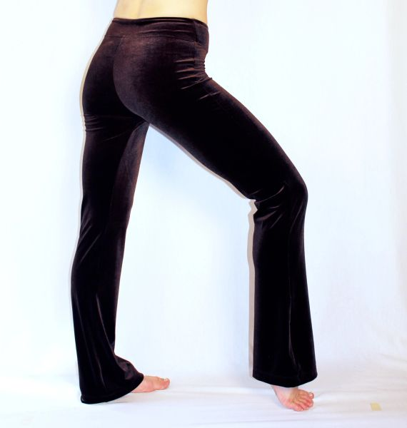 Velvet Awesome Pants in Warm Cocoa