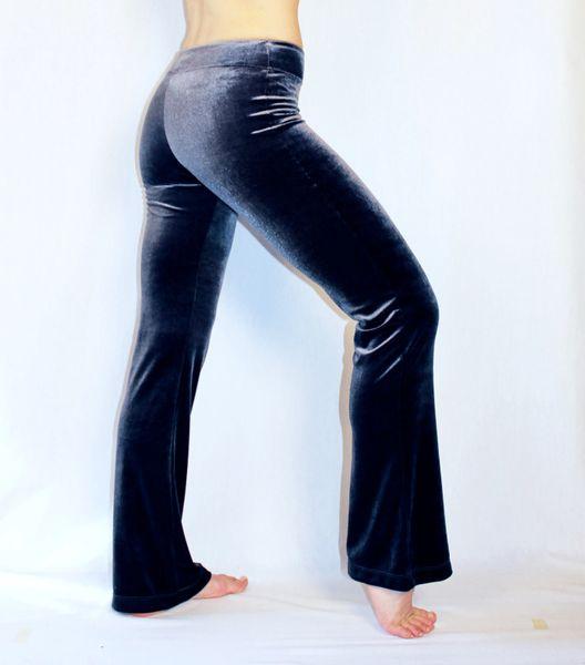 Velvet Awesome Pants Metallic Silver