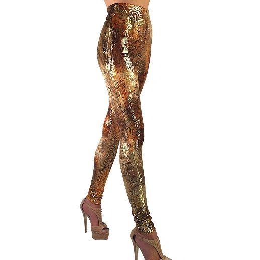 Golden Temple Leggings