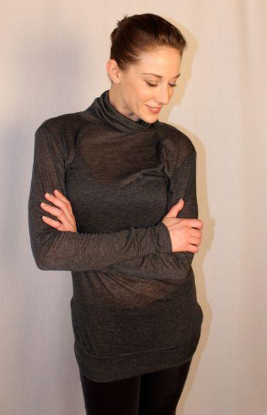 Cashmere Grey Swan Sweater