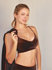 Suzette Bra in Stretch Velvet (View more colors)