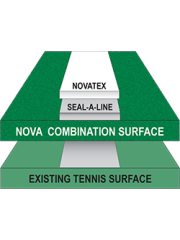 Novatex White (Textured Line Paint)