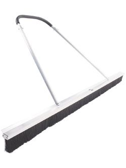 Deluxe 7' 3-Row Drag Broom With Lute