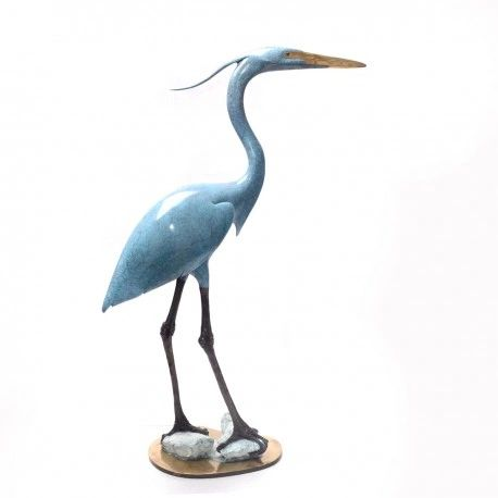 "BA13 Blue Heron in Everglades 27"""