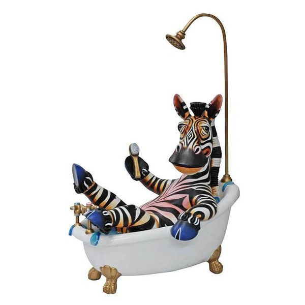 BathTime Zebra-Mini