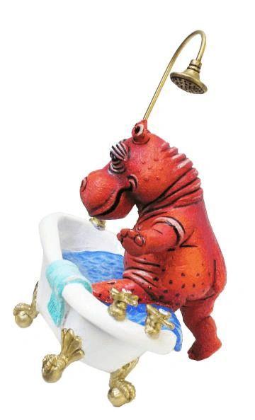 Tipping Hippo Bathtub- Mini